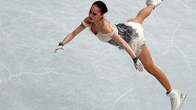 Olympic champion Zagitova leads ladies short programme at worlds