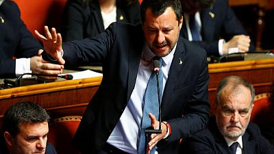 Italian parliament saves Salvini from migrant kidnapping probe