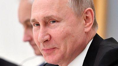 Russia's Putin meets heads of world's top oil traders, BP in Kremlin