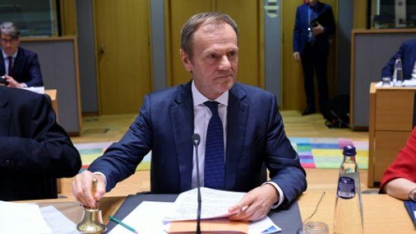 Le président du Conseil européen Donald Tusk, le 20 mars 2019 à Bruxelles