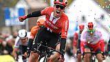 Cyclisme: le Néerlandais Cees Bol remporte la Nokere Koerse