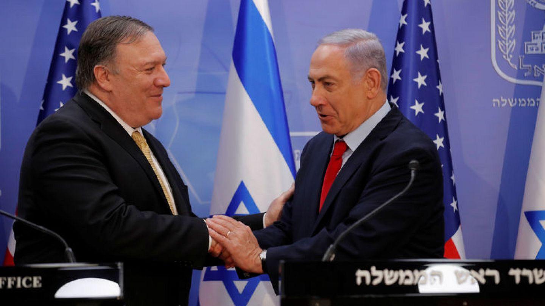 Pompeo pays pre-election visit to Israel, cites close Trump