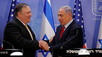 Pompeo pays pre-election visit to Israel, cites close Trump-Netanyahu ties