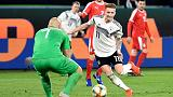 New-look Germany make promising start with Serbia draw