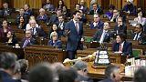 Canada's Trudeau under pressure as MP quits, budget criticized