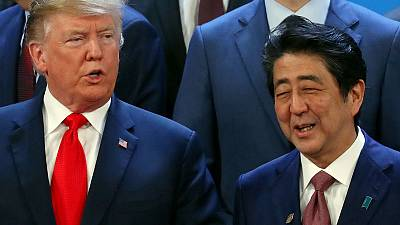 Japanese PM Abe may meet Trump in April - officials, media