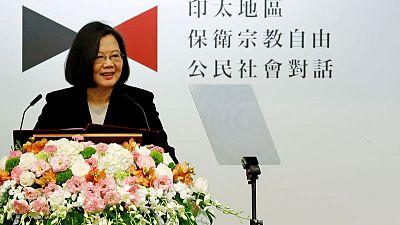Taiwan president to visit Hawaii amid China pressure