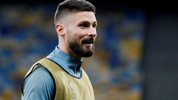 Chelsea's Giroud seeks France return to boost game time