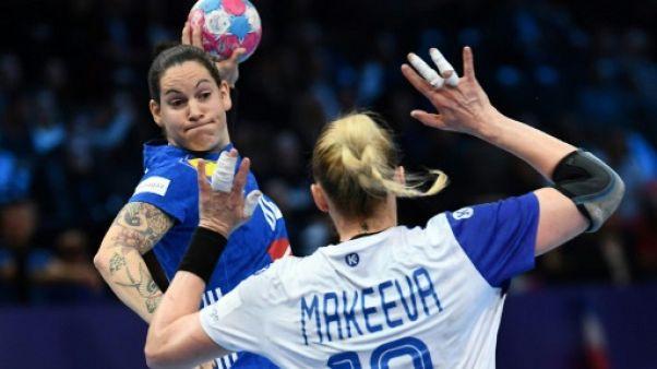 Hand: les Bleues championnes d'Europe se testent sur la Golden League