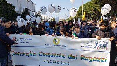 Mafia:in 5mila a corteo Libera in Puglia