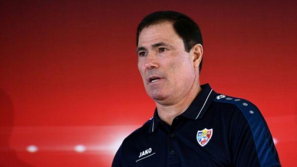 """Euro-2020: la France, """"l'adversaire le plus difficile de notre histoire"""", dit le sélectionneur moldave"""