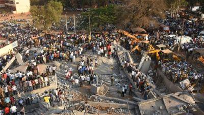Effondrement d'un immeuble en construction en Inde : au moins 11 morts