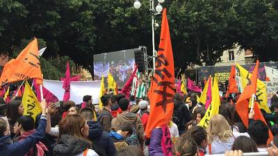 Mafia: migliaia in piazza a Cagliari