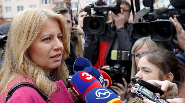 Anti-corruption campaigner tipped to win Slovakia's presidential run-off
