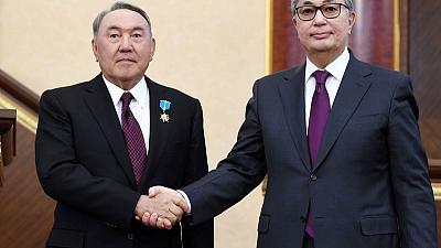 In sign of new dual rule, Kazakh leaders sticking together
