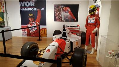 Ayrton Senna, 200 cimeli per raccontarlo
