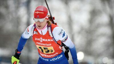 Biathlon: Kuzmina remporte le sprint d'Oslo, Wierer prend une option sur le Gros Globe