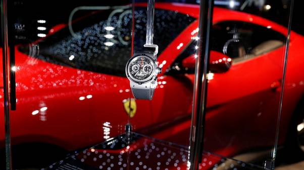 Swiss watchmakers say slowing growth in China won't hurt sales this year
