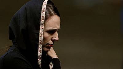 'We are one,' says PM Ardern as New Zealand mourns with prayers, silence