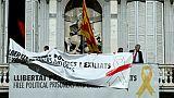 Symboles indépendantistes: le président catalan nargue les autorités espagnoles