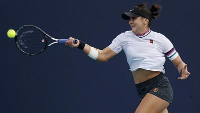 Teenager Andreescu pulls off great escape in Miami