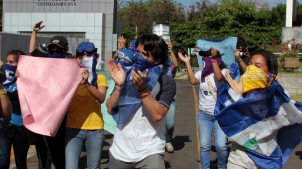 Nicaragua: opposition et gouvernement retrouvent la table des négociations