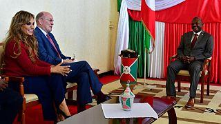 La Fondation Merck rencontre Le Président et La Première Dame du Burundi pour lancer leurs programmes dans le pays