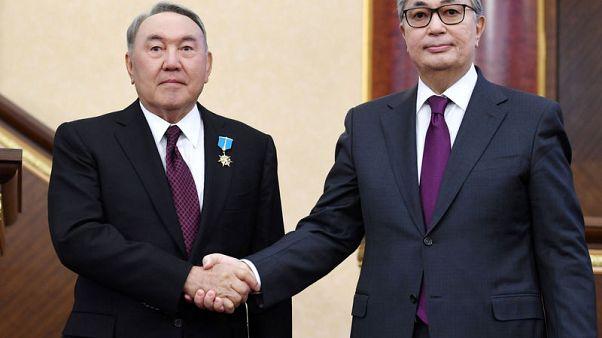 Police in Kazakhstan detain dozens of anti-government protesters