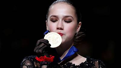 Olympic champion Zagitova claims another crown