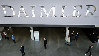 Daimler taps Goldman to raise China BAIC shareholding - sources