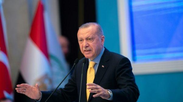 Erdogan appelle à combattre l'islamophobie au même titre que l'antisémitisme