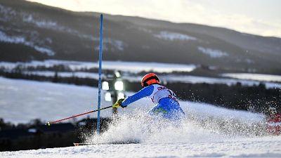 Sci: slalom, vince Tschurtschenthaler