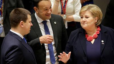 Irish PM sings tongue-in-cheek praises of EEA's lack of 'red lines'