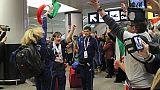 Festa a rientro azzurri Special Olympics