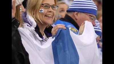 Italia-Finlandia: 700 tifosi da Helsinki