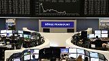الأسهم الأوروبية تسجل أكبر خسارة أسبوعية هذا العام