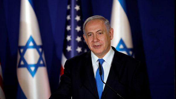 Israeli PM Netanyahu says will sue political rivals for libel