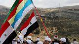 الدروز في هضبة الجولان يرفضون تأييد ترامب لسيادة إسرائيل عليها