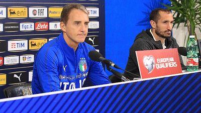 Chiellini, da Mancini serenità e fiducia