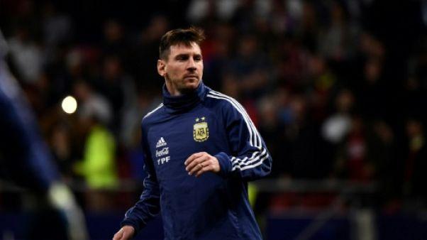Euro-2020: l'Argentine avec Messi mais sans Di Maria, Aguero et Higuain
