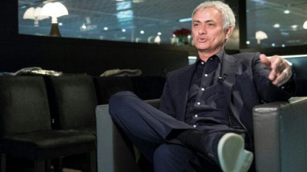 """Mourinho à l'AFP: Mbappé a sa place """"sur le podium du Ballon d'or"""" cette saison"""