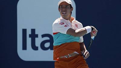 Nishikori stunned by Lajovic in Miami second round