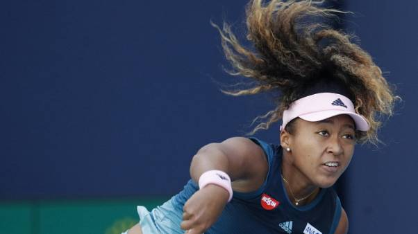 Osaka enjoys rollercoaster win in Miami