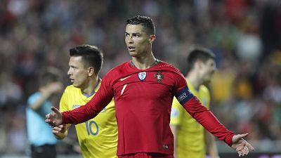 Euro 2020: torna CR7,Portogallo non vola