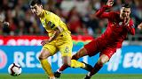 Portugal draw a blank against Ukraine on Ronaldo's return
