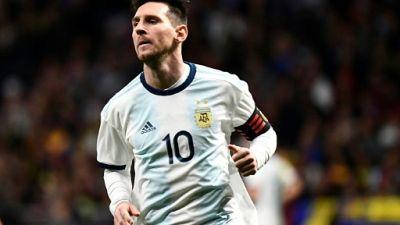 Amical: Messi forfait pour le Maroc
