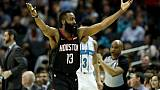 NBA: James Harden toujours plus haut, LeBron James KO