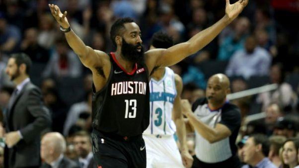 NBA: James Harden toujours plus haut, LeBron James KO