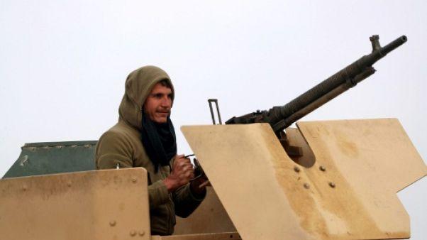 Un combattant des Forces démocratiques syriennes (FDS), le 14 février 2019