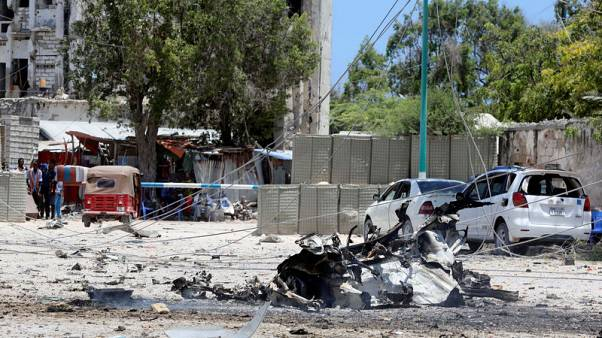 Al Shabaab attacks Somali government building in Mogadishu, at least nine dead